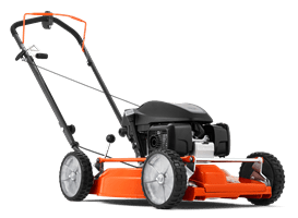 Front-wheel drive lawn mowers