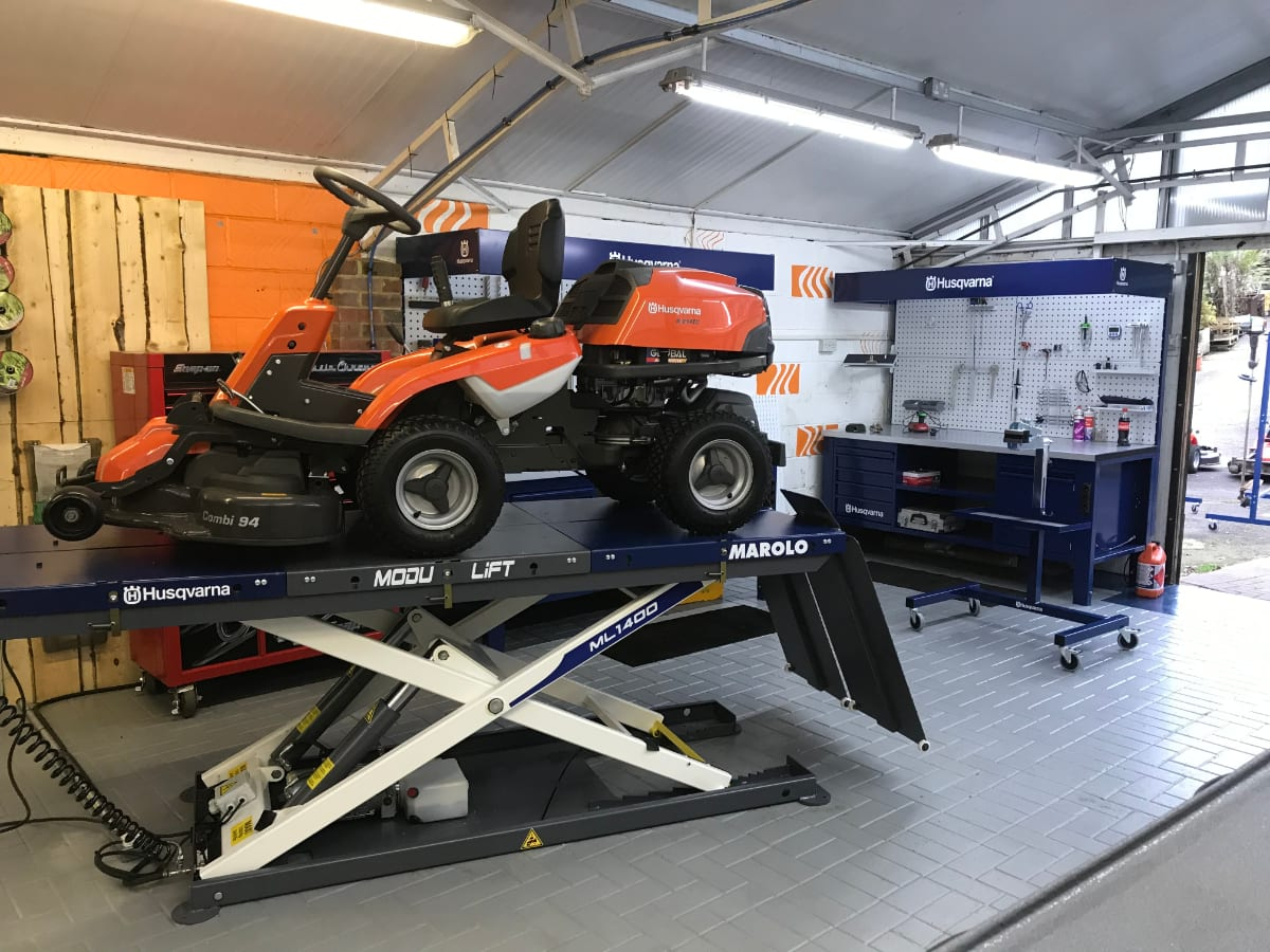 7oaks Mowers Workshop